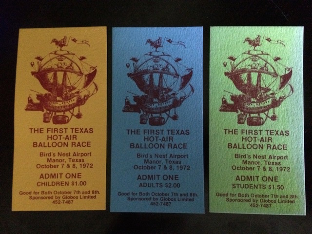 Tickets from Glen Moyer Collection