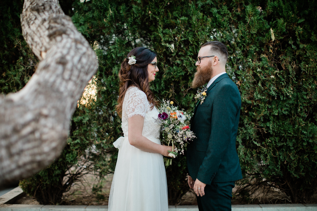 Highland Park, Los Angeles Backyard Wedding