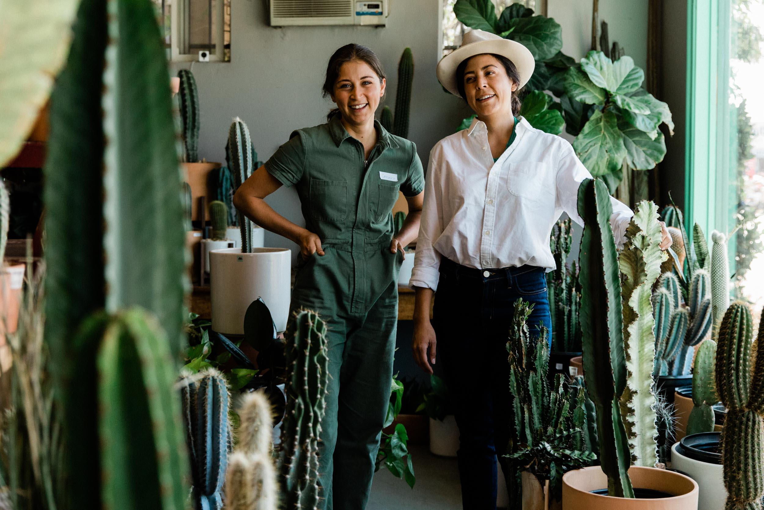 Daniella and Andanette, the sisters behind   Ponderosa Cactus