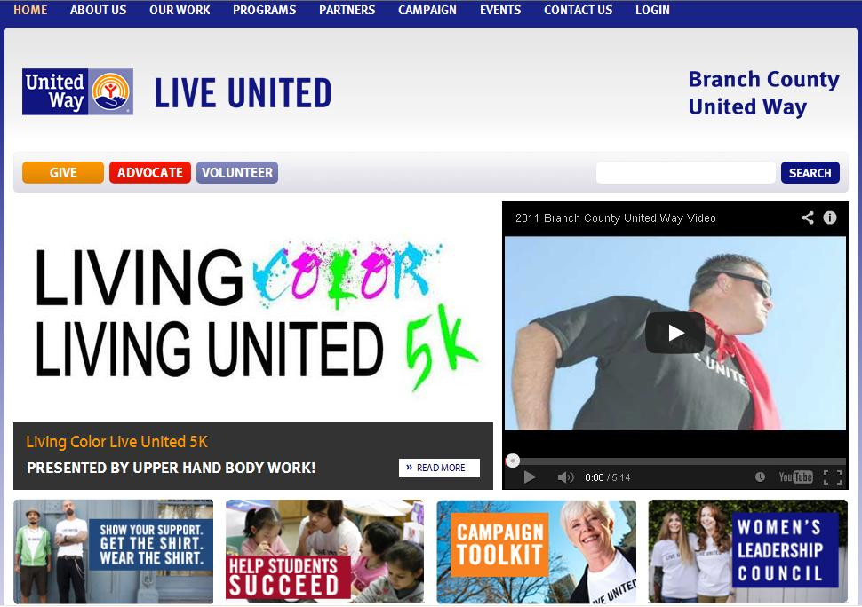 Branch County UW - Living Color Living United 5K.JPG