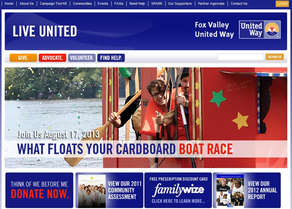 Fox Valley UW - What Floats Your Cardboard Boat Race.JPG