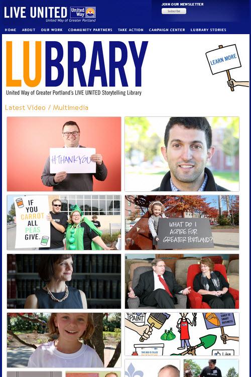 UW of Greater Portland - LUbrary Web page.jpg