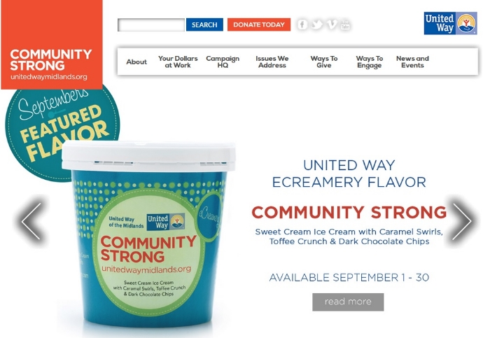 United Way of the Midlands - Community Strong Ice Cream.jpg