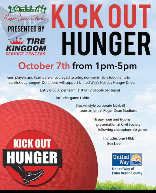 UW of Palm Beach County - Kick Out Hunger kickball tournament.png