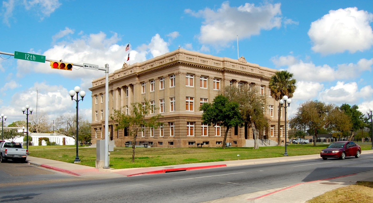 1912 Cameron County Court House, Brownsville, Texas (Atlee B. Ayers, architect)