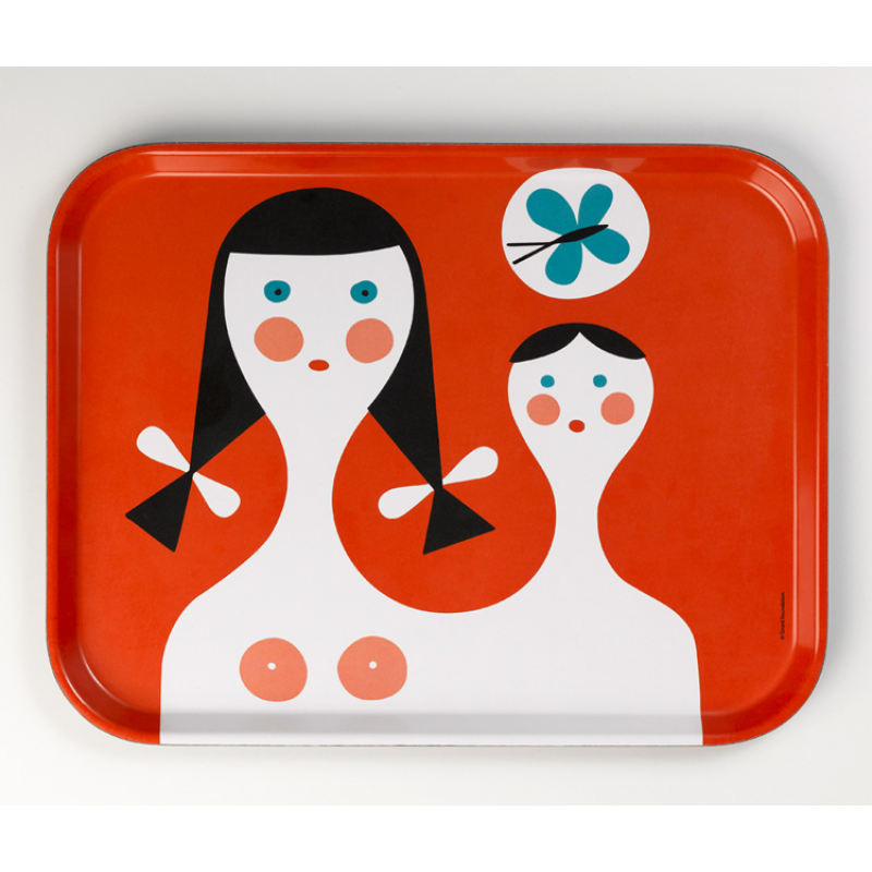 classic tray Mother and Child from Sixties Vitra modern German accessories.png