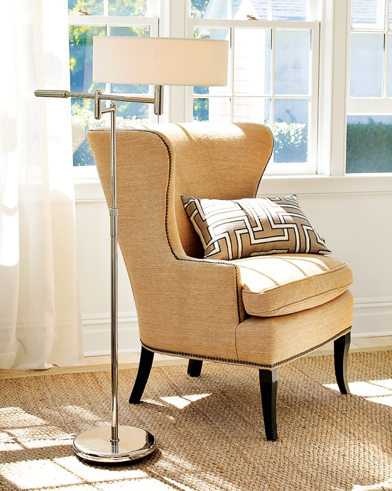 Great chair profile and detailing, I like the Chelsea Chair because it can go from light and fresh to dark and sophisticated with a quick fabric change.