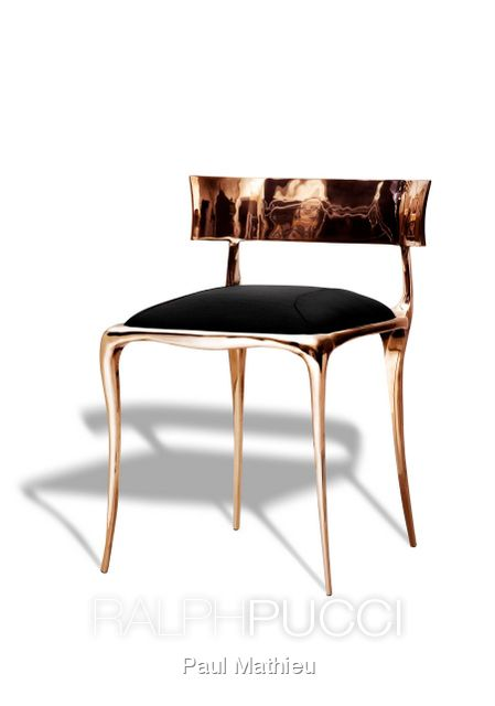 Aria Chair by Paul Mathieu for Ralph Pucci