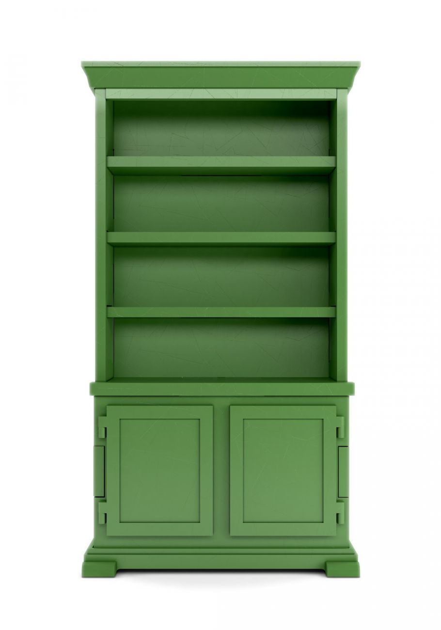 Green Paper Cabinet (lacquered paper finish) from Studio Job for Moooi