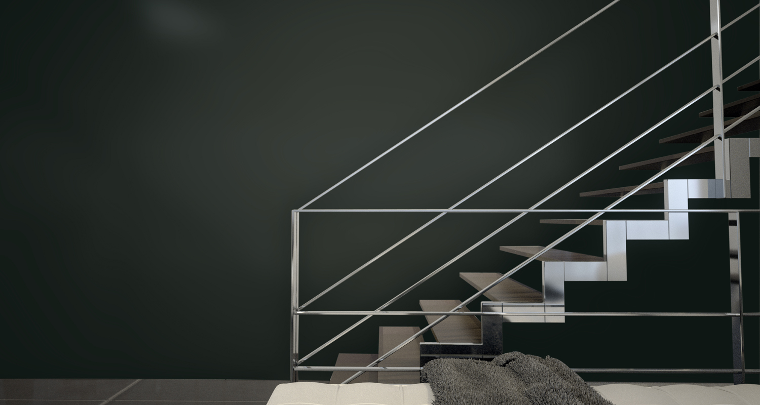 Italian Black Satin back-painted glass wall covering from Bendheim Architectural Glass