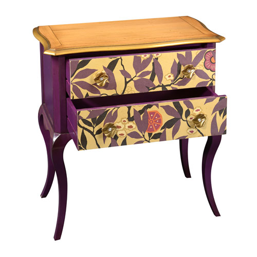 "Louis XV ""Rhododendrons"" Chest of Drawers"