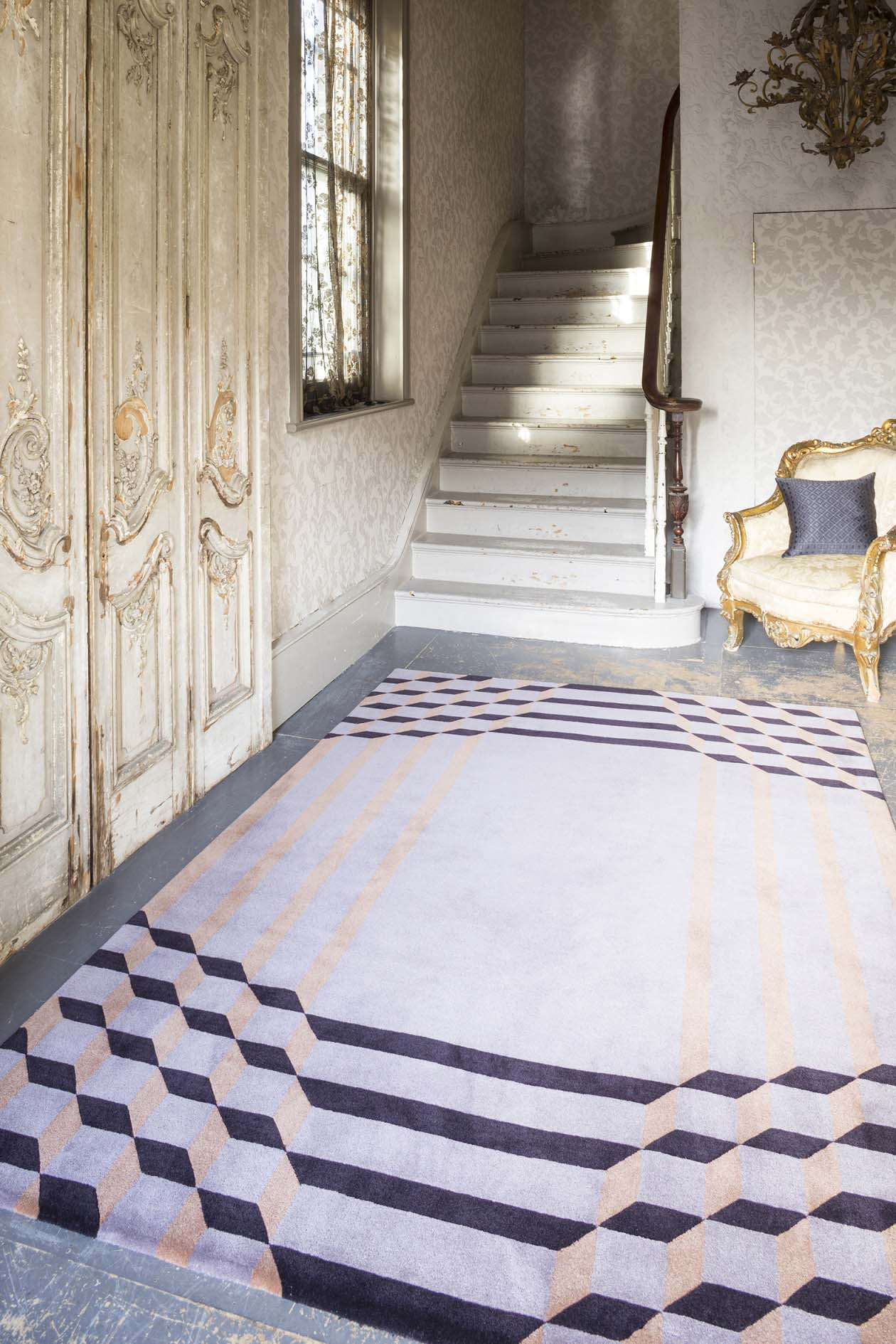 Top Floor Rugs: Crawford rug from the Jazz Age Collection