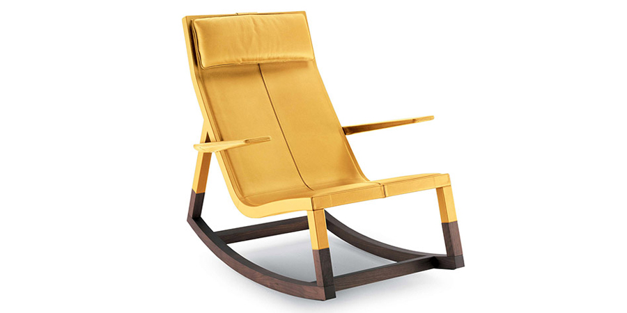Don'Do rocking chair designed by Jean-Marie Massaud
