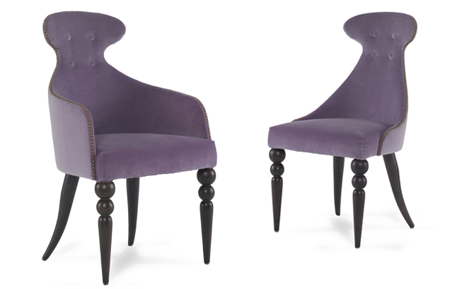 Julian Chichester's Emma Dining Chairs are great fun, with an out-there point of view.