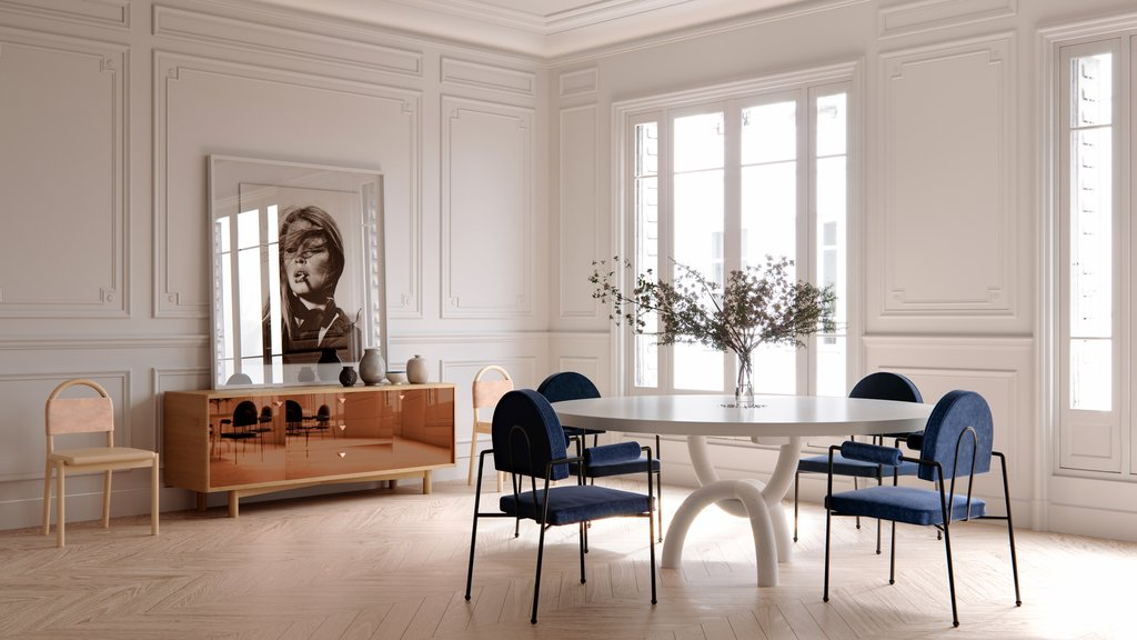 Consort collection dining room furnishings from Consort Design