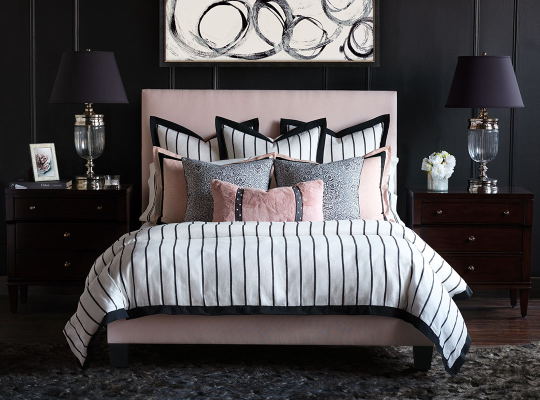 Spectator bedding by Barclay Butera for Eastern Accents