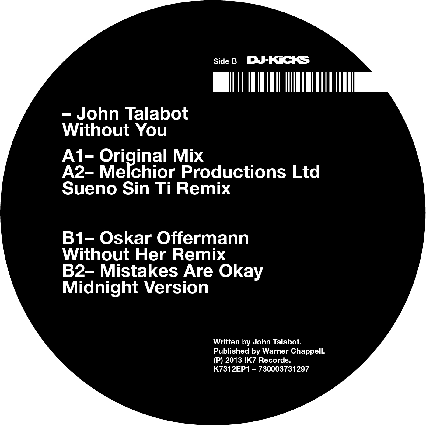 Without You - John Talbot