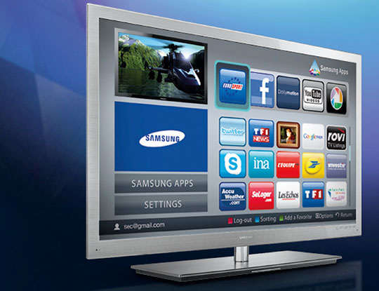 New Samsung consumer products will allow you to go online and 'experience' Smart TV Apps - but how smart are they?