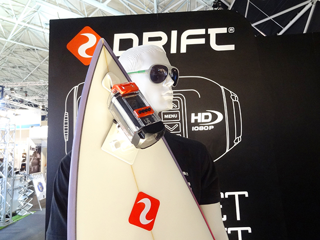 At IBC Once you think you're in a sports clothing store, you're either at Drift's or GoPro's stand.
