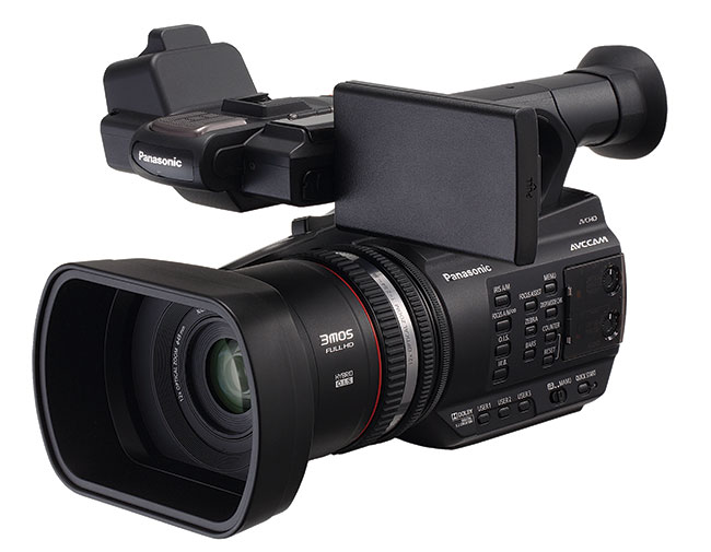 For under £2,000 including tax you can get this new AVCCAM camcorder from Panasonic.