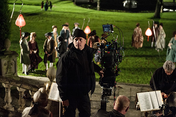 Ben Smithard on the set of 'Belle' with the Sony f65.