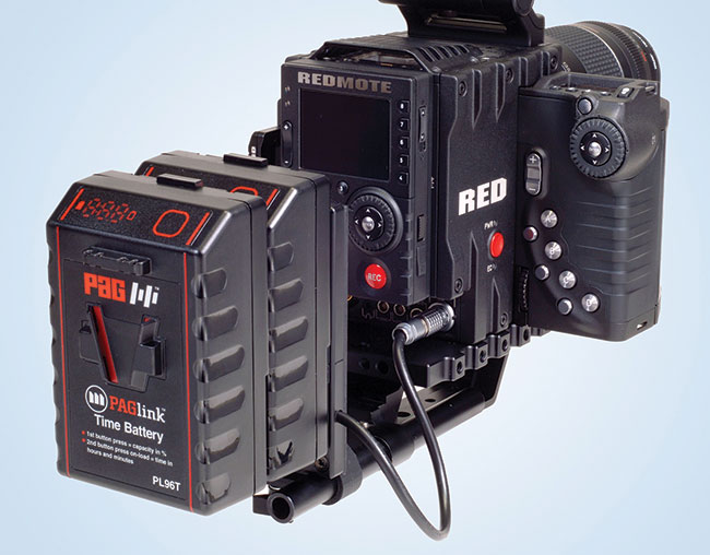 PAG has also introduced new V-Mount Plates for cameras where it is not possible to mount the batteries directly.