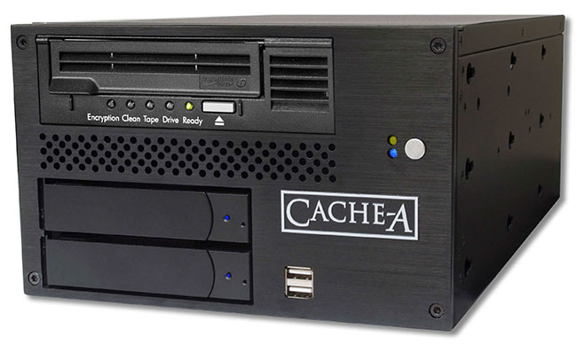 Pro-Cache6 – the company's flagship system with increased 6TB internal HDD RAID 0 or RAID 1 disk-cache storage.
