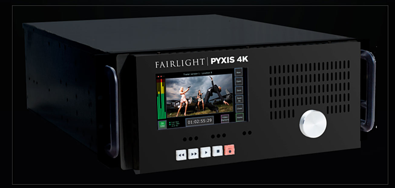 Fairlight's 4K Pyxis has an impressive spec and can be synched for 8k video walls.