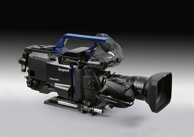 Ikegami and Arri have produced this hybrid broadcast/digital cinema 2k camera.