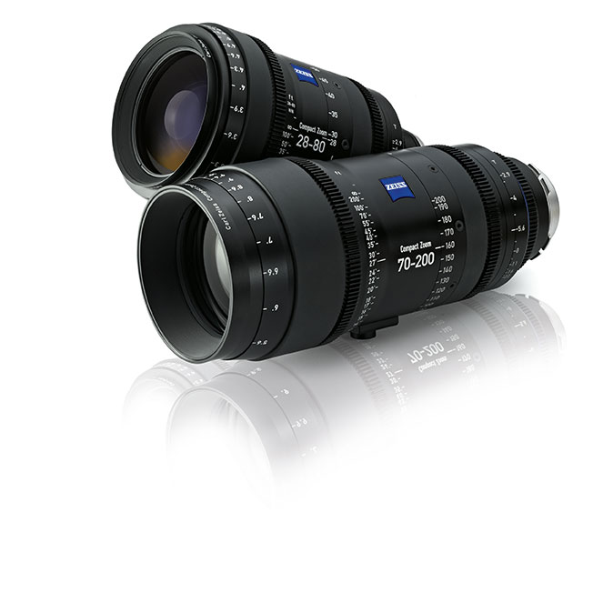 Zeiss' compact zooms.