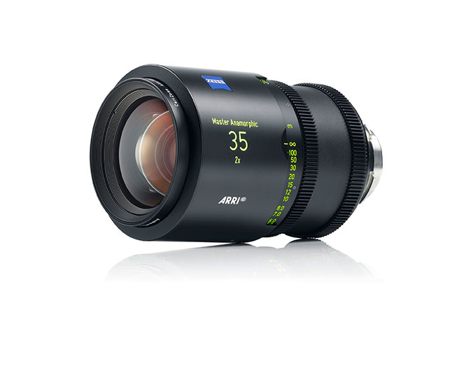 Arri/Zeiss Master Anamorphic lenses are arriving this May.
