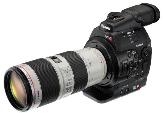 Canon C300s continue to be in high demand.