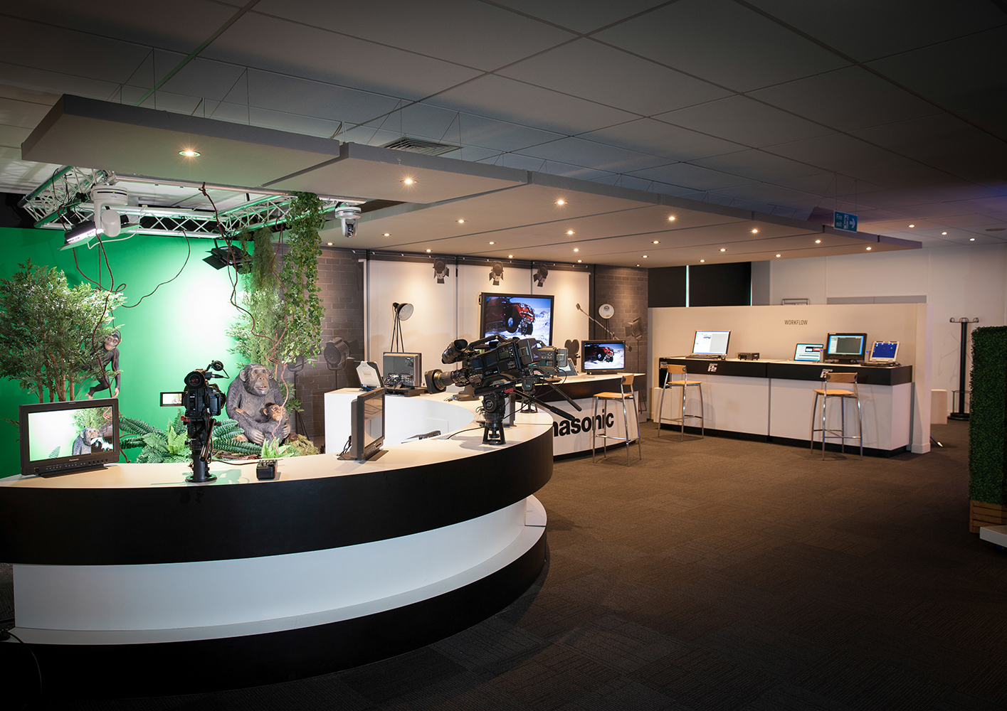 The Solution Centre is home for Panasonic's broadcast, security, point of sale, monitor wall and Toughbook business.