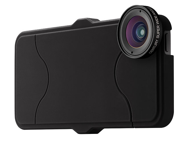 Schneider Optic's new case/lens combo has been designed specifically for iPhone 5s.