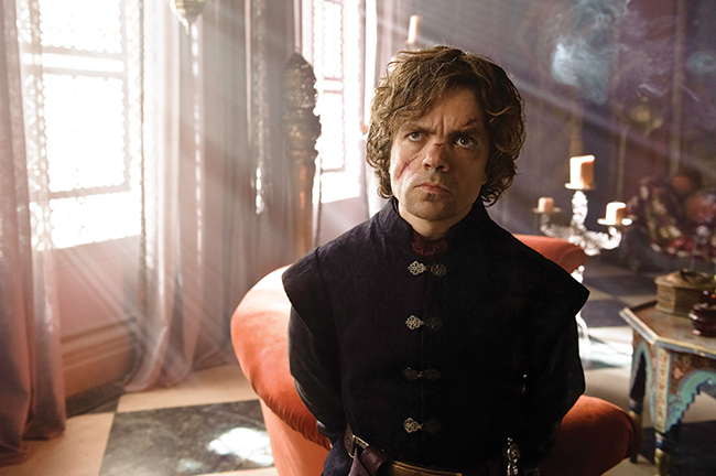 Tyrion Lannister - played by Peter Dinklage - is the nearest thing the series has to a hero, albeit a very badly behaved one.