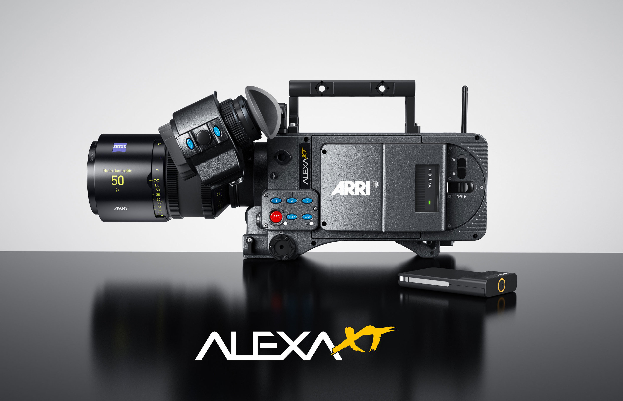 ALEXA XT now with Arri's 9th software update.