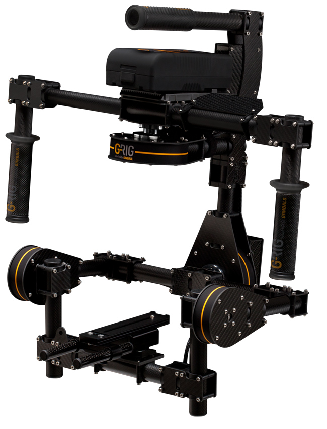 G-Rig think their VALOS stabilised system replaces a Steadicam.