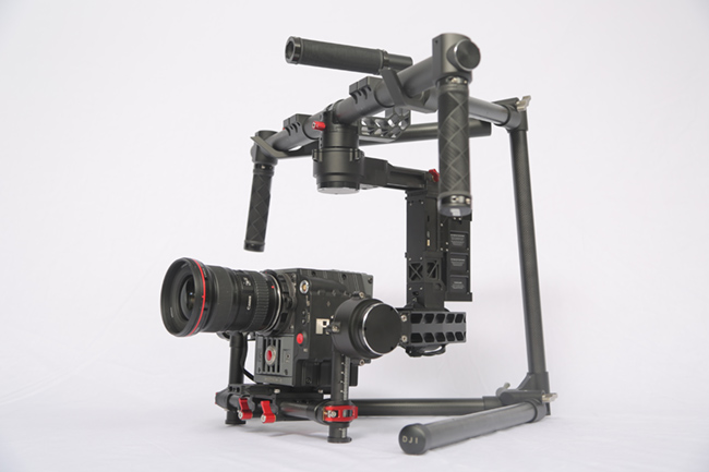 DJI Ronin, their first attempt at a stabilised camera rig on the ground.