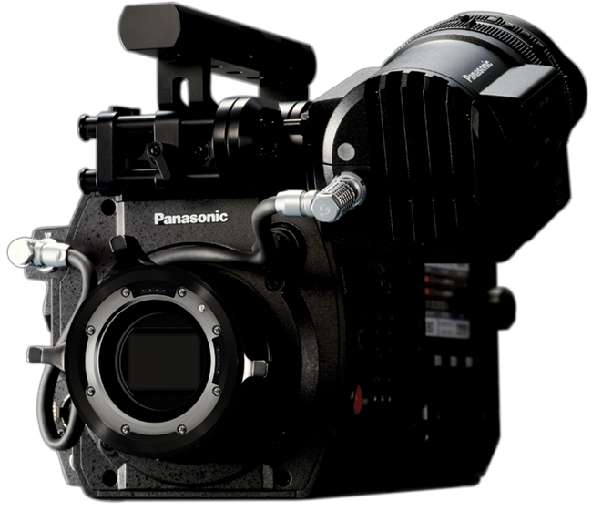 The new Panasonic Varicam 35 4k camera.