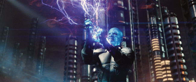 Electro from The Amazing Spider-Man 2 movie was just part of its amazing storage requirements.