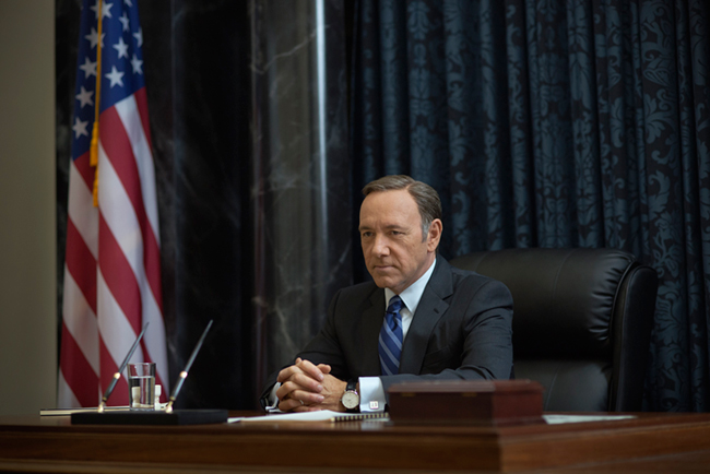 'House Of Cards' now in 4k.