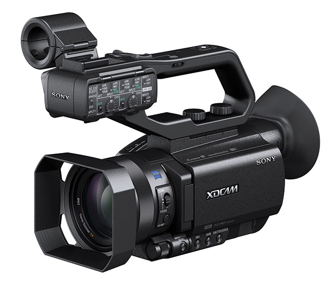 Extremely compact 4.2.2 10-bit camcorder with new one inch sensor.