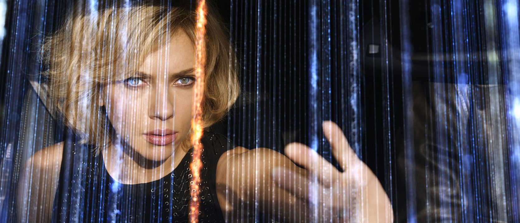 Luc Besson's 'Lucy' opens today and is the director's first all digital movie.