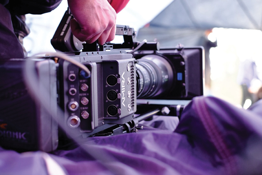 By the end of the year the Arri Amira camera will have a UHD 1 recording and outputting option