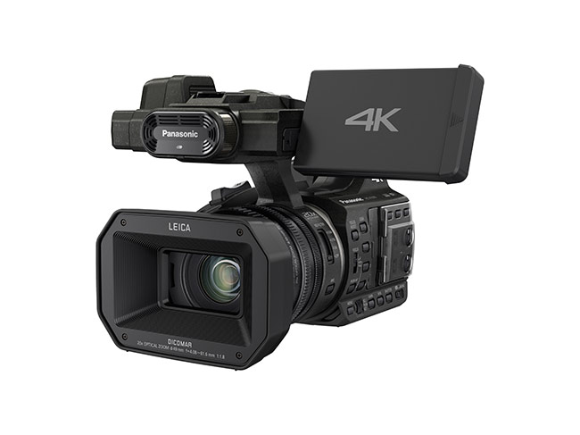 Panasonic's new compact 4k camcorder - 4k without having to wait for it.