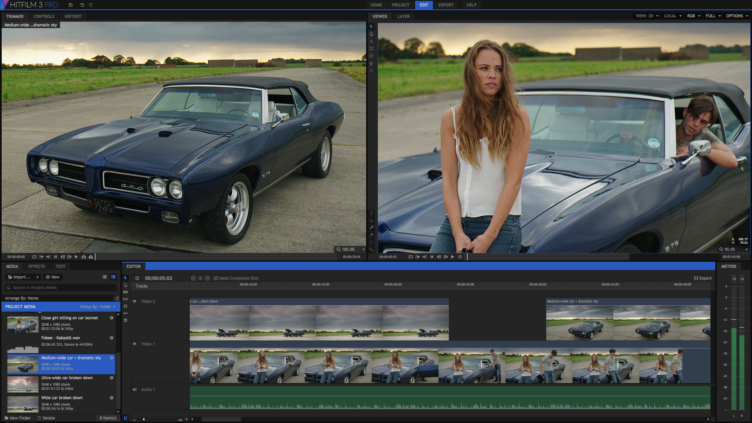 FXHOMEhas announced that the latest version of its video editing and visual effects software, HitFilm 3 Pro, is now available for pre-order fromhitfilm.comfor just $299 (£229), ahead of its release on 24th November 2014.