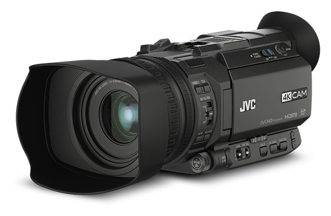 The new JVC GY-HM170 4k or UHD compact camera.