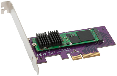 Sonnet's new 512GB PCIe SSD card is for OS X and Windows 7&8Sonnet Technologies has announced the Tempo PCIe SSD PCI Express (PCIe) SSD card with a 512GB SSD module, as the newest member of the Sonnet Tempo family of storage cards. The Sonnet PCIe SSD card serves as an alternative to traditional storage solutions mounting a PCIe SSD on a card that installs into a computer's PCIe expansion card slot.