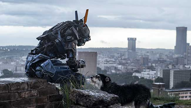 CHAPPIE is the story of a re-programmed robot who threatens the very existence of the human race.
