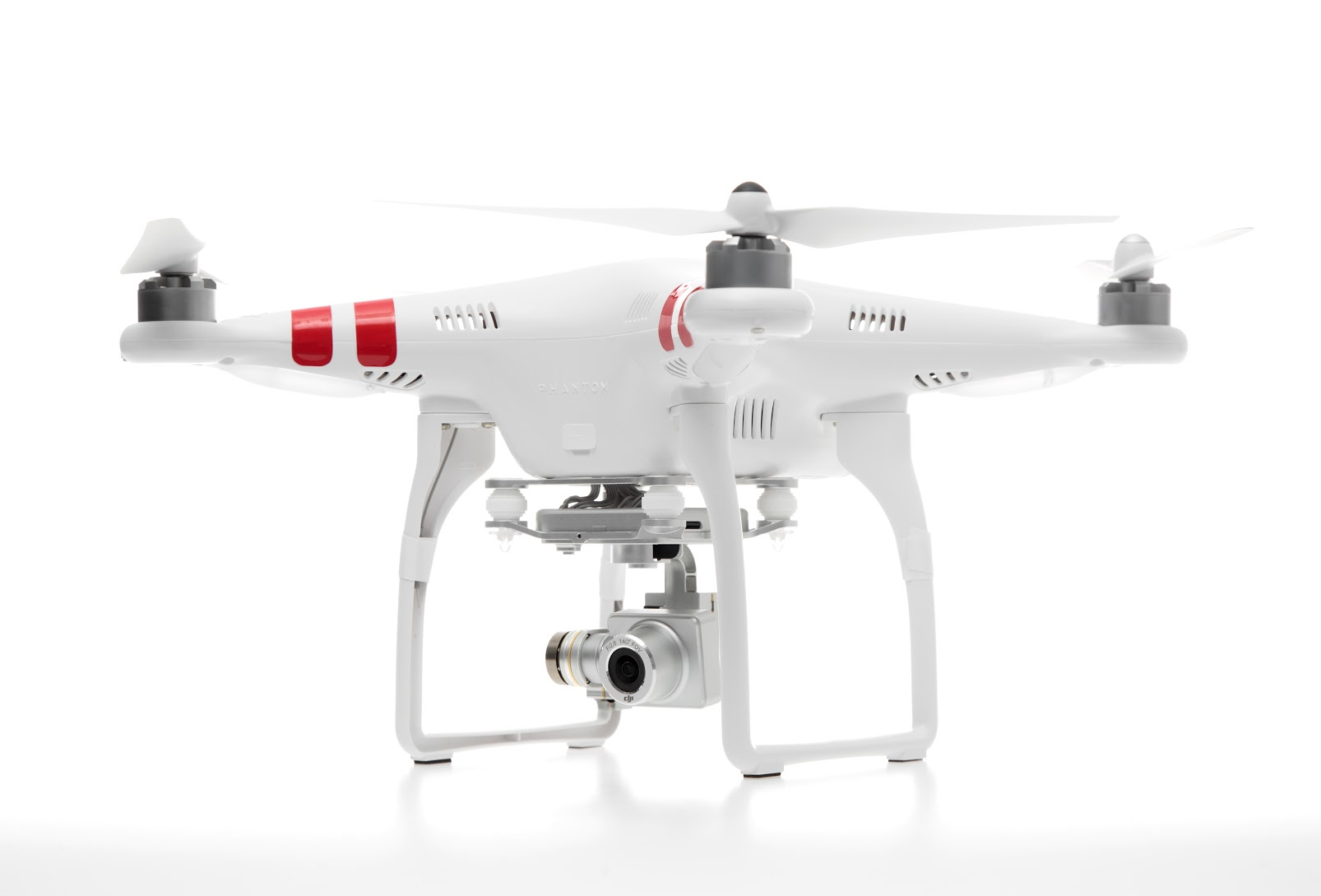The new Solo from 3D Robotic (above) - purely for GoPros but will control one totally. The new Phantom 3 from DJI (below)with many tricks up its sleeve like a 720p stream direct to YouTube from a company who maybe worth $10 billion soon.